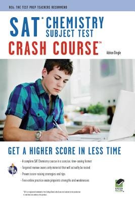 Sat Chemistry Crash Course By Dingle, Adrian